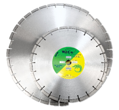 Pro-Series Asphalt and Green Concrete Wet Blades